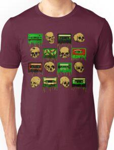 Skulls and creepy Tapes 2 Unisex T-Shirt