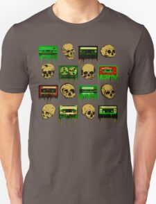 Skulls and creepy Tapes 2 Unisex T-Shirt