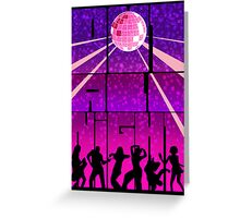 Out all Night Greeting Card