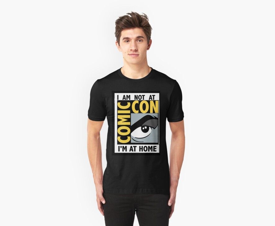 I'm Not At Comic Con by 221BBitches
