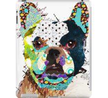 Bulldog portrait iPad Case/Skin
