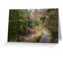 Portmeirion Gardens Greeting Card