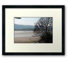 The Estuary seen from Portmeirion Framed Print