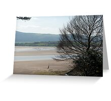 The Estuary seen from Portmeirion Greeting Card