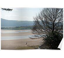 The Estuary seen from Portmeirion Poster