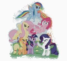 My Little Pony Group shot by paulabstruse