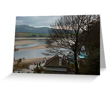 Estuary from Portmeirion Greeting Card