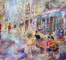 Al Fresco Cafe - Art Gallery 65 by Ballet Dance-Artist