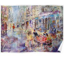 Al Fresco Cafe - Art Gallery 65 Poster