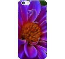Purple Fractals iPhone Case/Skin