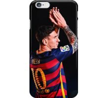 Lionel Messi 1 iPhone Case/Skin