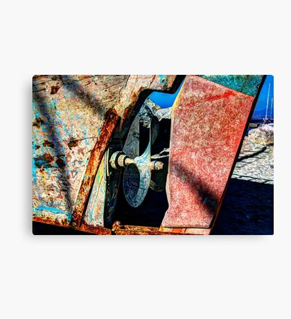 Driving Force Canvas Print
