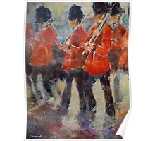 Marching Guards On Parade - Soldiers Art Gallery Poster