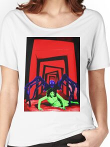 Cabinet of the Tarantula  Women's Relaxed Fit T-Shirt