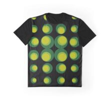 green retro balls Graphic T-Shirt