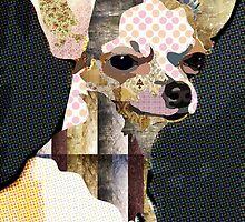 Chiuaua Portrait by Marcia  Pinho