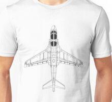 Northrup Grumman EA-6B Prowler Blueprint Unisex T-Shirt