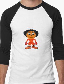 Mr Brown Men's Baseball ¾ T-Shirt