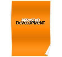Arrested Deveopment Poster - orange Poster