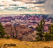 The Grand Canyon from the South Rim.. by philw