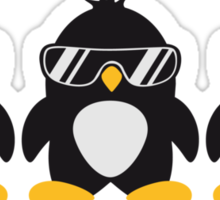 Penguin Team Sticker