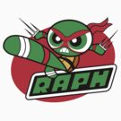 Powerpuff Raph by DJKopet