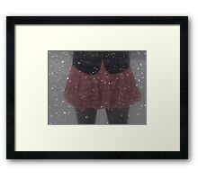 He's Taken To Saying I'm Crazy Framed Print