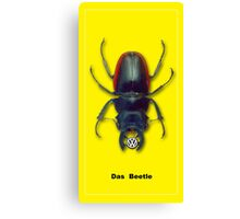 Das Beetle Canvas Print