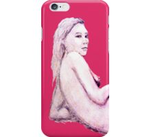Serene Nude (Pink) iPhone Case/Skin