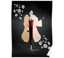 Origami - Cruella DeMon Poster