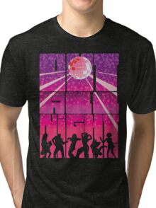 Out all Night Tri-blend T-Shirt