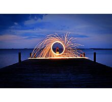 Fire and Water 2 Photographic Print