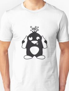 Drunken Party Penguin T-Shirt