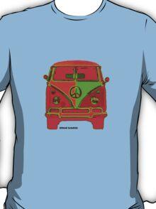 Hippie VW Bus  T-Shirt