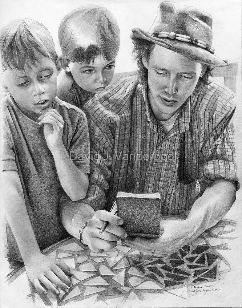Journal Entry - John and Sons by David J. Vanderpool