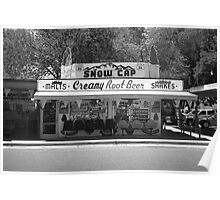 Route 66 - Snow Cap Drive-In Poster
