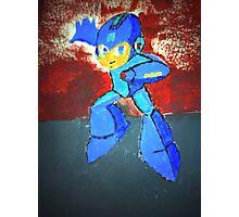 Megaman Fan Art Painting Photographic Print