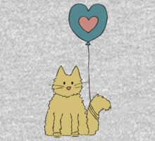 My cat loves balloons One Piece - Short Sleeve