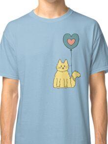 My cat loves balloons Classic T-Shirt