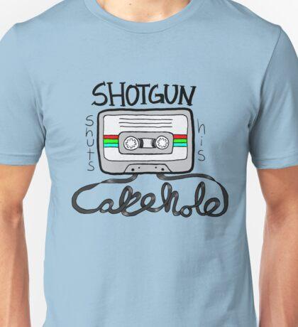 Shotgun Shuts His Cakehole Unisex T-Shirt