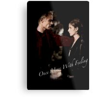 Spike And Buffy - Once More With Feeling Metal Print