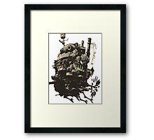 Robotic Castle Framed Print