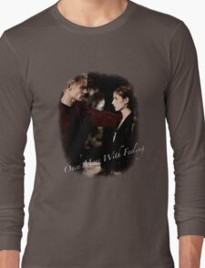 Spike And Buffy - Once More With Feeling Long Sleeve T-Shirt