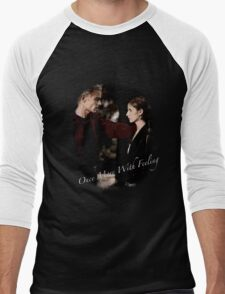 Spike And Buffy - Once More With Feeling Men's Baseball ¾ T-Shirt