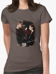 Spike And Buffy - Once More With Feeling Womens Fitted T-Shirt