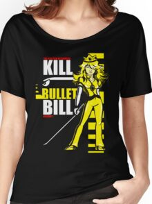 Kill Bullet Bill (Black & Yellow Variant) Women's Relaxed Fit T-Shirt