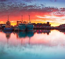 Fremantle Sunset by Ben Reynolds