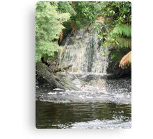 Lovers Falls Canvas Print