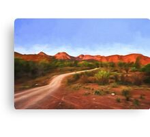 Outback Track   (GO1) Canvas Print