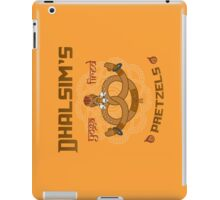 Street Vendor 2- Dhalsim's  yoga fired Pretzels iPad Case/Skin